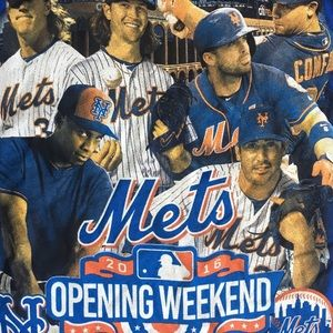 Other - Mens NY Mets Opening Day 2016 T Shirt XL